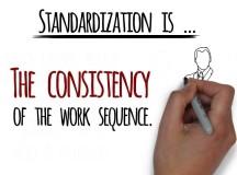 Lean performance: For no surprises, standardize it